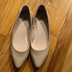 H&M nude flats